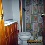 Tiny bathroom