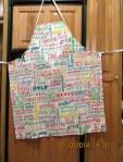 My new apron