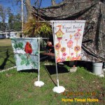 Home Tweet Home garden flag