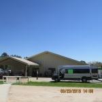 Van in front of CARE Center
