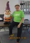 Shirley with dwarf