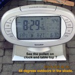 8:30 time and temperature