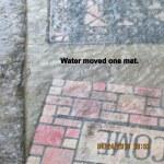 Water across the mat (2)
