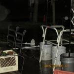 Rain water in yard (2)
