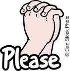 Pray please