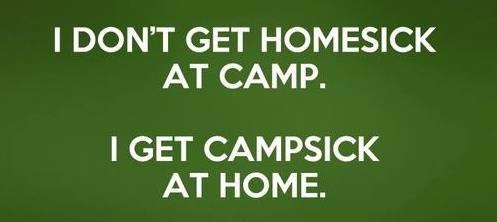 Camp sick poster