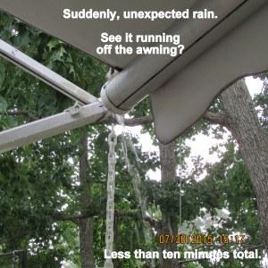 Sudden rain