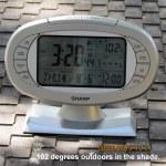 Temperature at three-twenty