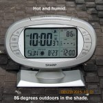 Temperature at ten
