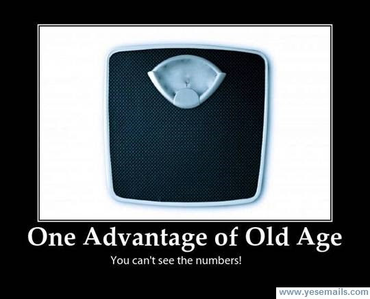 One advantage of old age scales