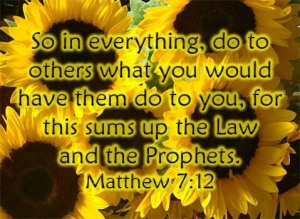 Golden Rule Matthew7-12