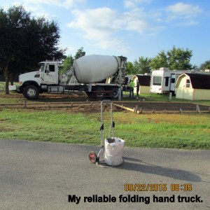 My reliable hand truck
