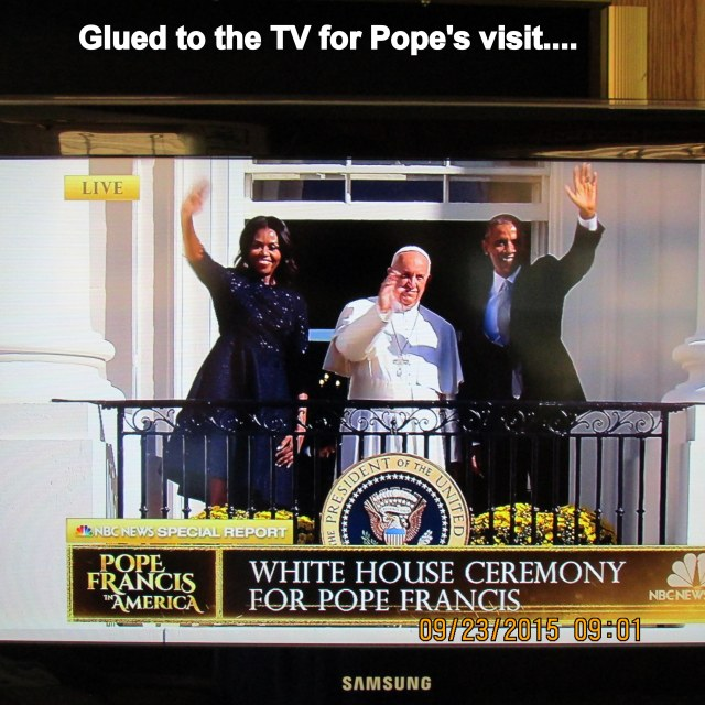 Pope Francis at the White House