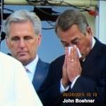 John Boehner weeps