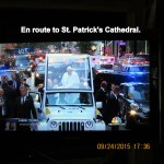 En route to St. Patrick's Cathedral