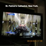 Inside view of St. Patrick's Cathedral