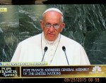 Pope Francis at United Nations