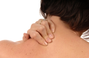 women with back ache