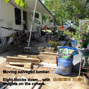Moving lumber