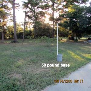 Fifty pound base