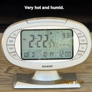 Temperature at two