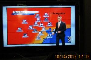 TV weather