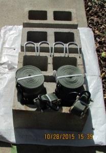 Blocks, hooks, and straps