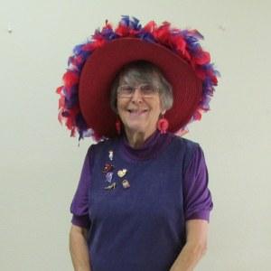 Lorraine at Halloween (close up)
