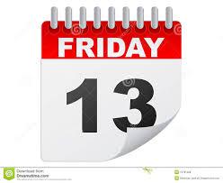 Friday the thirteenth calendar