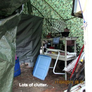 Lots of clutter