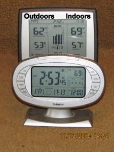 Temperature at three