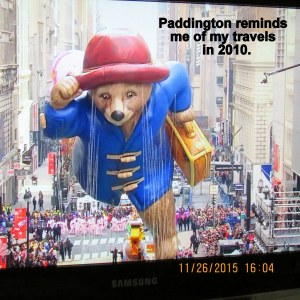 Paddington reminds me of my travels