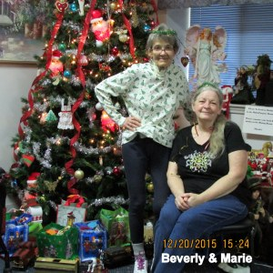 Beverly and Marie