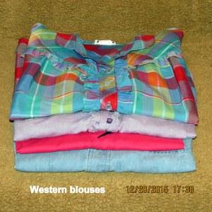 Western blouses