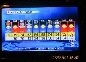 Ten day forecast