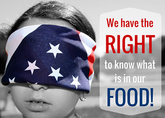 Poster We have a right to know what's in our food