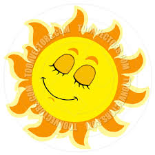 Sunshine happy face