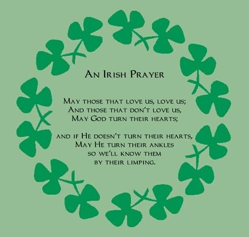 An Irish prayer