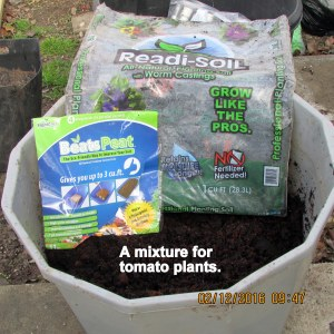 Soil for tomato plants