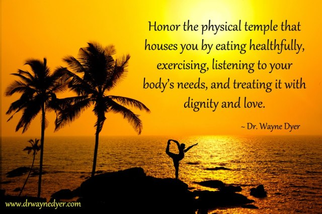 Honor the physical body (poster)