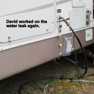 Water leak repaired