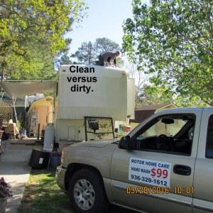 Clean versus dirty (1)