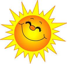 Smiley face sunshine