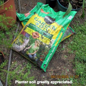 Planter soil