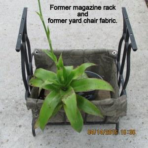 Magazine rack planter (2)