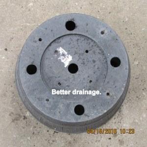 Better drainage