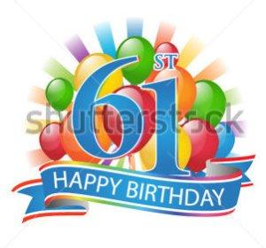 Thom's sixty-first birthday