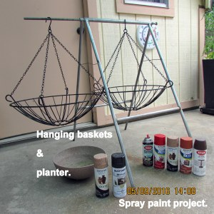 Spray paint project