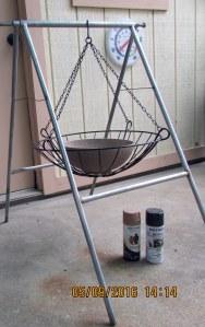 Hanging basket and planter