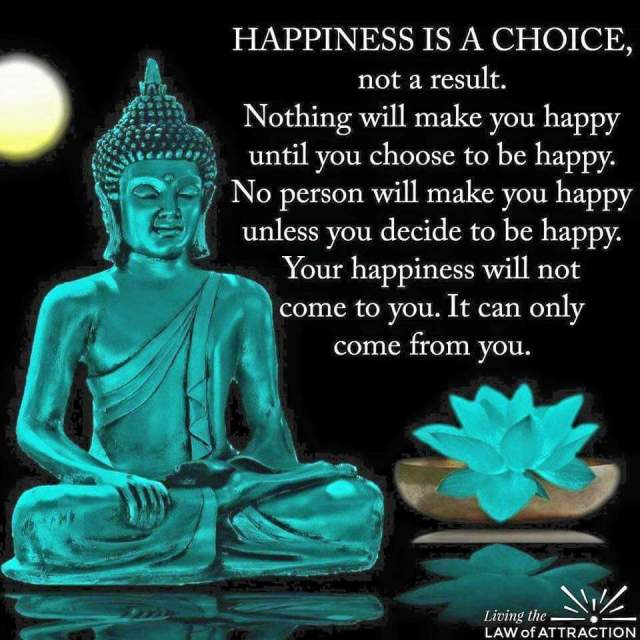 Happiness is a choice (poster)